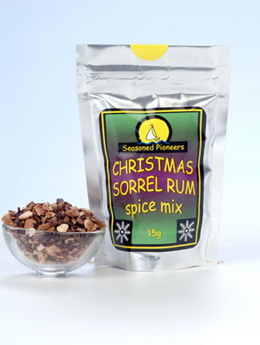 Caribbean sorrel rum spice mix for Mix spiced rum with